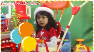 The Wheels On The Bus Song | Funny Baby Sing Nursery Rhymes For Kids