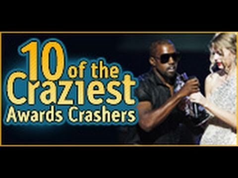 10 of the Craziest Award Show Crashers