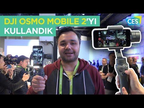 DJI Osmo Mobile 2'yi kullandık: İlk izlenimlerimiz