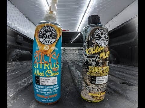 Chemical Guys Tough Mudder Truck Wash!