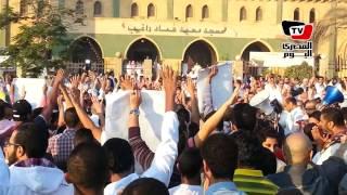 الإخوان تستقبل العيد بشعار رابعة في ٦ أكتوبر