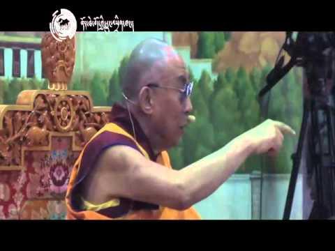 Introduction to Tibetan Buddhism by Dalai Lama at TCV hall  Dharamsala