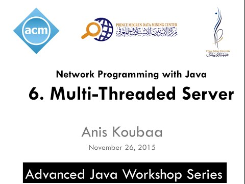 [Java Workshop Series] Java Network Programming : Multi-Threaded Server