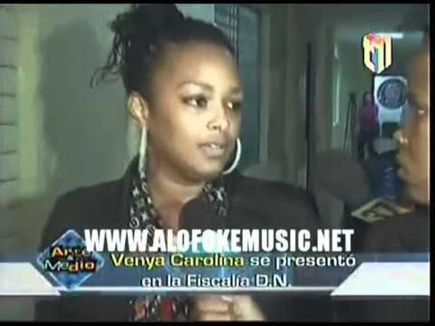 Venya Carolina fue a demandar a los que publicaron el montaje de ella desnuda!!!