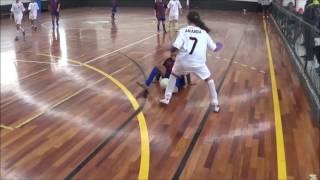 Real Madrid 5 x 3 Barcelona - Futsal - Sub 12/14 - Jogo Completo
