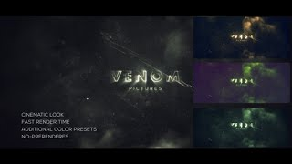 Venom Logo Reveal | After Effects Template