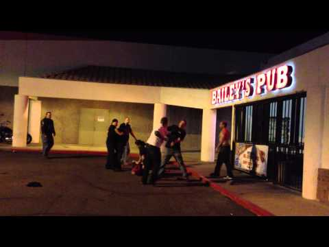 Parking Lot Bar fight 11/04/2012 Part 1