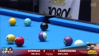 2016 US Open 8-Ball: Jesse Bowman vs Shane Van Boening