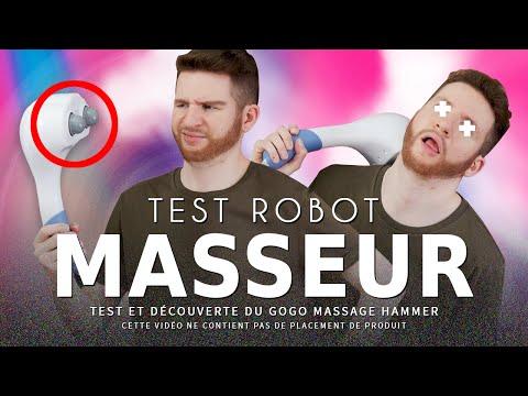 CRASH TEST : robot masseur bionique (gogo hammer)