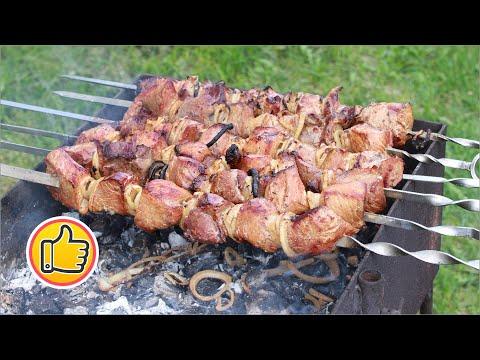 Шашлык в Чайном Маринаде от Вахтанга, Без Уксуса!   Канал ВО! с Юлией Ковальчук
