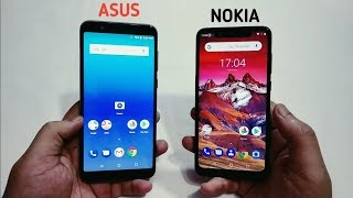 Nokia 5.1 Plus Vs Asus Zenfone Max Pro - Camera,Display,Battery,Perfomance [Hindi]