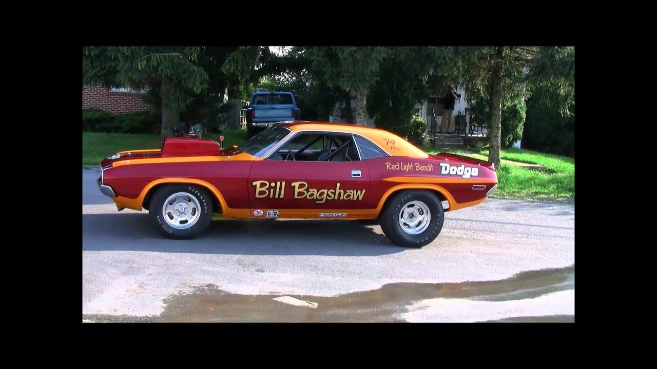 Bill Bagshaw S Nhra Pro Stock Quot Red Light Bandit Quot 1970 Hemi
