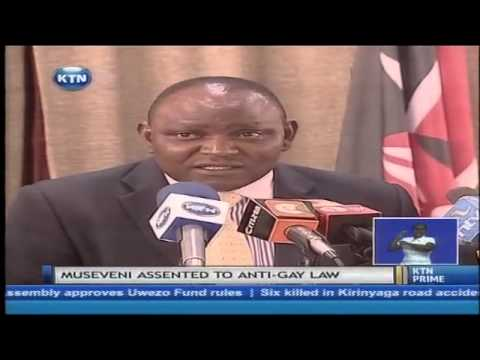 Kenyan law makers support Uganda's passing into law of the anti-homosexuality bill