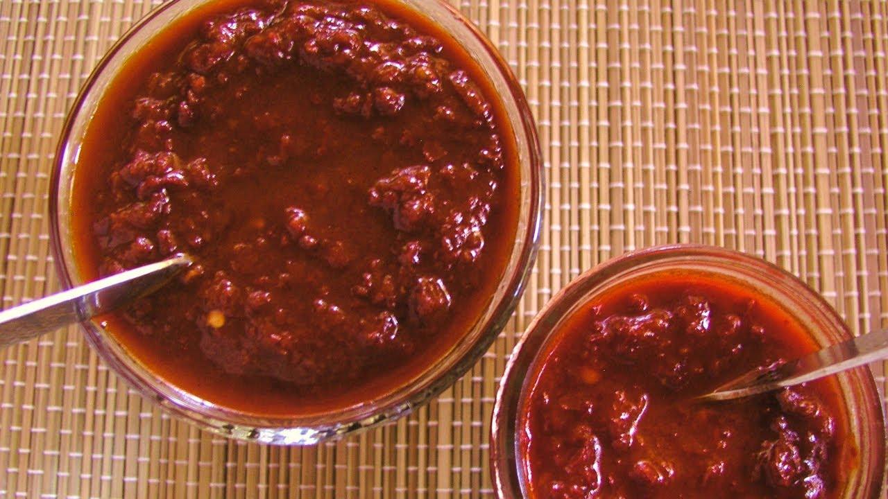 Chile Ancho Molido Carne Con Chile Ancho y