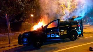 "Scout Schultz-GA Tech Antifa Riot To Protest ""Their"" (Schultz') SPLC-FB Liking Death!"