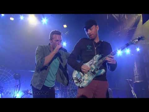 Coldplay - In My Place (Live @ Letterman)