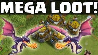MEGA LOOT & DRACHEN! || CLASH OF CLANS || Let