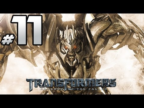 Transformers Revenge Of The Fallen - Decepticon Campaign - PART 11 - Megatron Vs. Optimus Prime