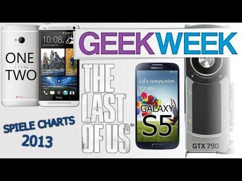 Die erfolgreichsten Spiele 2013 - Nvidia kündigt Geforce GTX 790 an - Infos zum HTC One 2