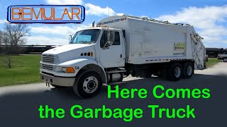 Bemular - Here Comes the Garbage Truck (Kids Music & Video)