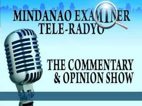 Mindanao Examiner Tele-Radyo Jan. 15, 2013