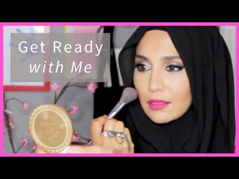 GET READY WITH ME: PINK ON EID! | Amenakin