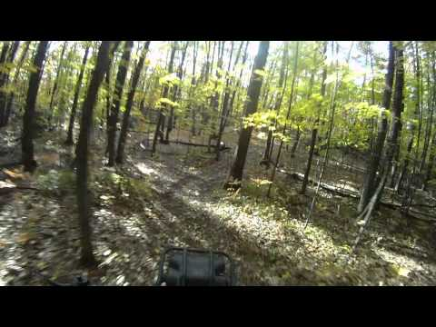 GoPro HD Wide Helmet Cam Suzuki LT230 Quad Runner Sport Camera Trail Riding