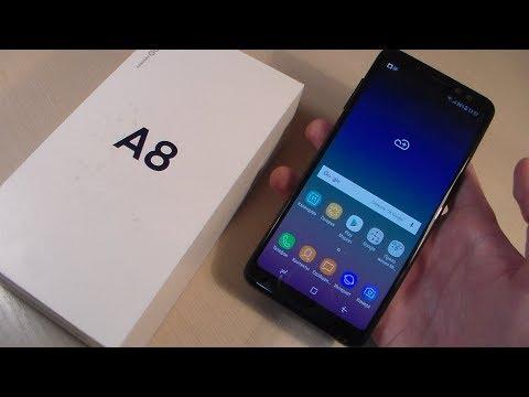 Обзор Samsung Galaxy A8 2018 (A530F)