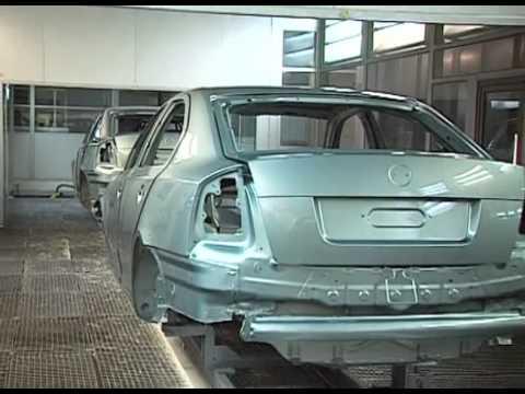 Jak Se Vyrábí Škoda Octavia (Octavia Production )