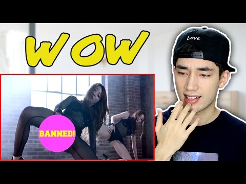 Top 15 BANNED KPOP Music Videos Reaction