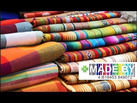 Производство ткани. MADE.BY