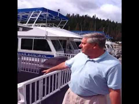 Vallejo Community Issues Examiner:  Forever Resorts - Trinity Lake_How to beach your houseboat.wmv
