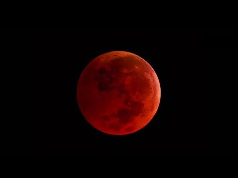 Blood Moon April 14 2014 on Sony FS100