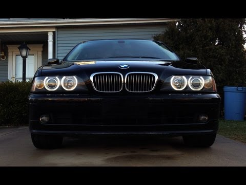 BMW E39 LED Angel Eyes Upgrade