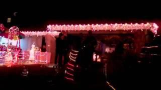 Candy Cane Lane 2011 in Corona CA