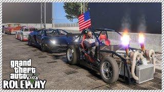 GTA 5 Roleplay - Cleetus McFarland Leroy 'DESTROYS' Bugatti Chiron | RedlineRP #278
