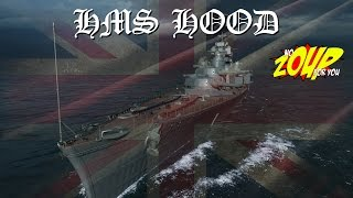 HMS Hood Preview - World of Warships