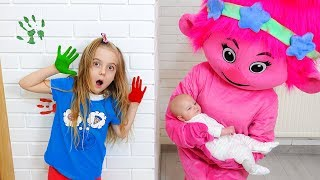 Learn Colors with Colored Paint Nursery Rhymes Song for Children