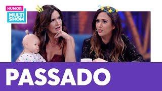 Fátima Bernardes relembra tempos de Jornal Nacional e Bonner!    Lady Night   Humor Multishow