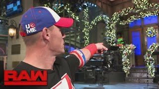 John Cena comments on his