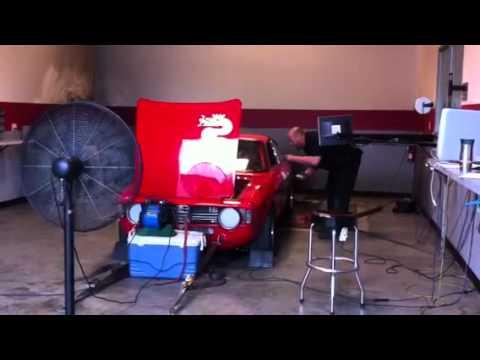 Alfa Romeo Twin Spark Dyno Run