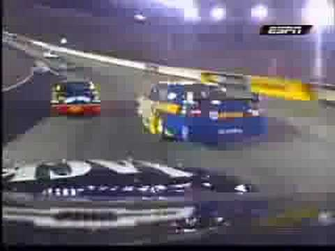 Clint Bowyer on Michael Waltrip Bristol 2008 Video