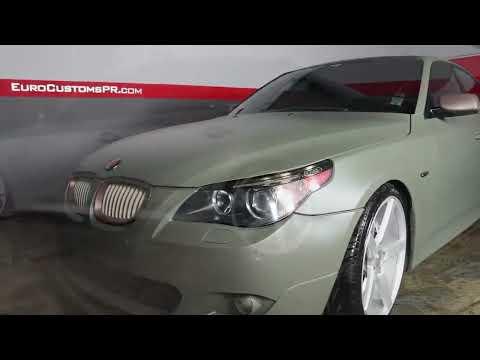 Plasti Dip BMW - Camo Green - EuroCustomsPR