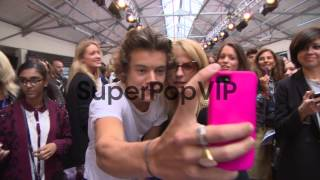 B-ROLL - Harry Styles, Nick Grimshaw, Kelly Osborne at Ho...