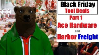 Black Friday Tool Deals Part 1: Ace Hardware & Harbor Freight