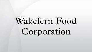 Wakefern Food Corporation