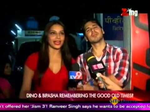 Dino & Bipasha Watch Raaz3 Together
