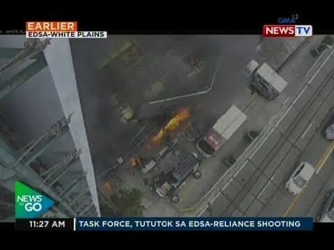 NTG: Breaking News: Sunog sa EDSA-Connecticut Greenhills