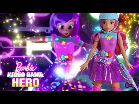 Unbox Barbie Video Game Hero Match Game Princess Doll & Get into the Game! | Barbie