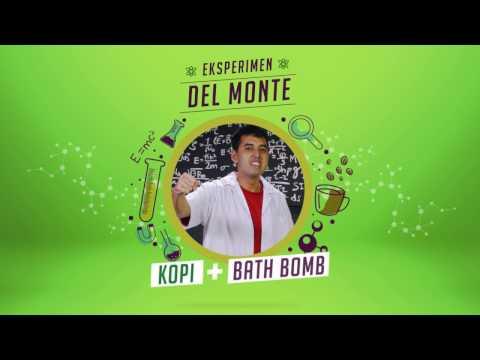 "Eksperimen ""Kopi + Bath Bomb"" dari Del Monte!"